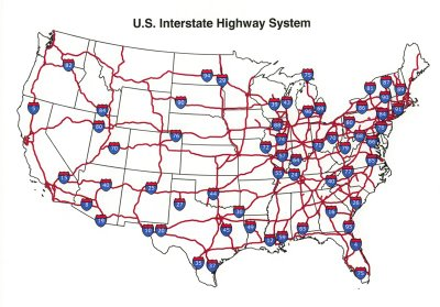 Summer Fun And Travel Todd B Freese - Us driving map