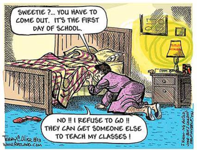 First Day for Teachers